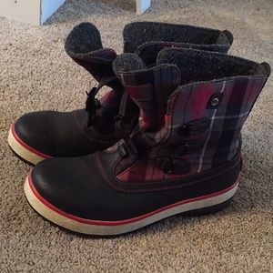 Ugg Winter/Rain Plaid Boots